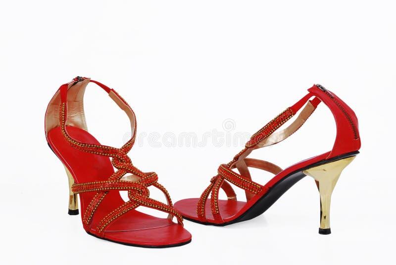 dama galanteryjni buty obraz royalty free