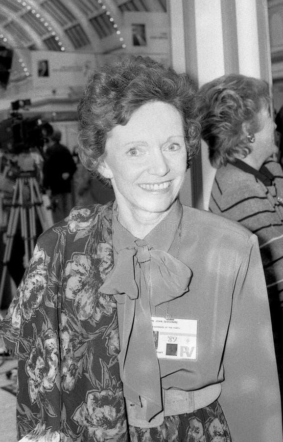 Dama Joan Seccombe fotografia de stock