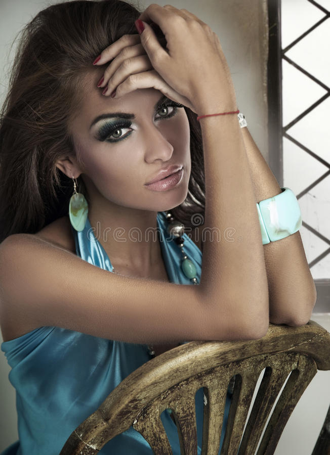 dama portret zdjęcie royalty free