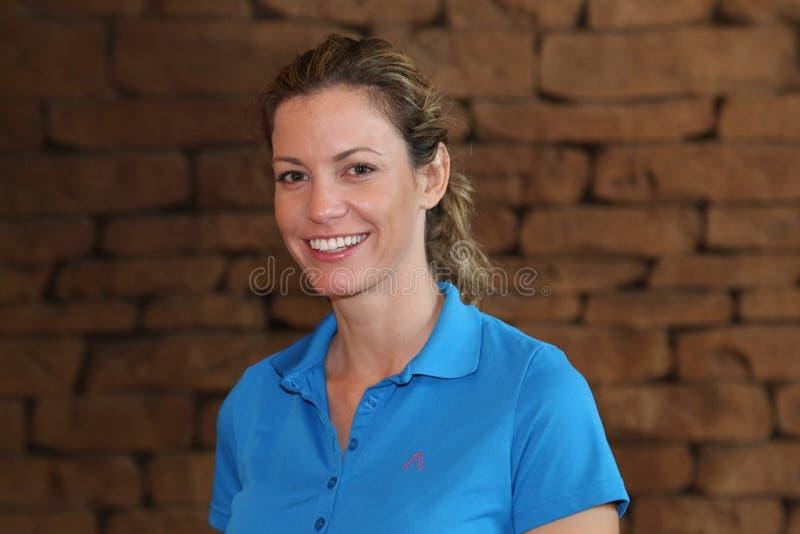Dama pro golfista Emma Bello Listopad 2015 w Południowym Afr fotografia royalty free