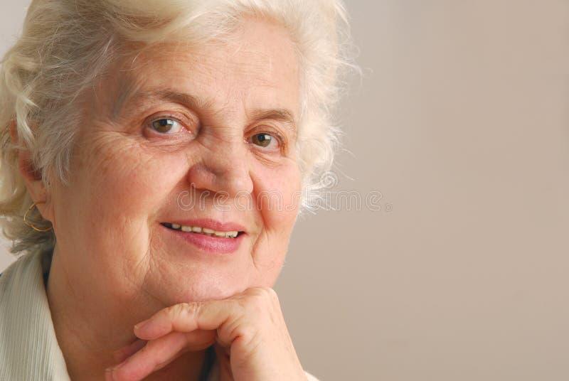 dama senior zdjęcie stock