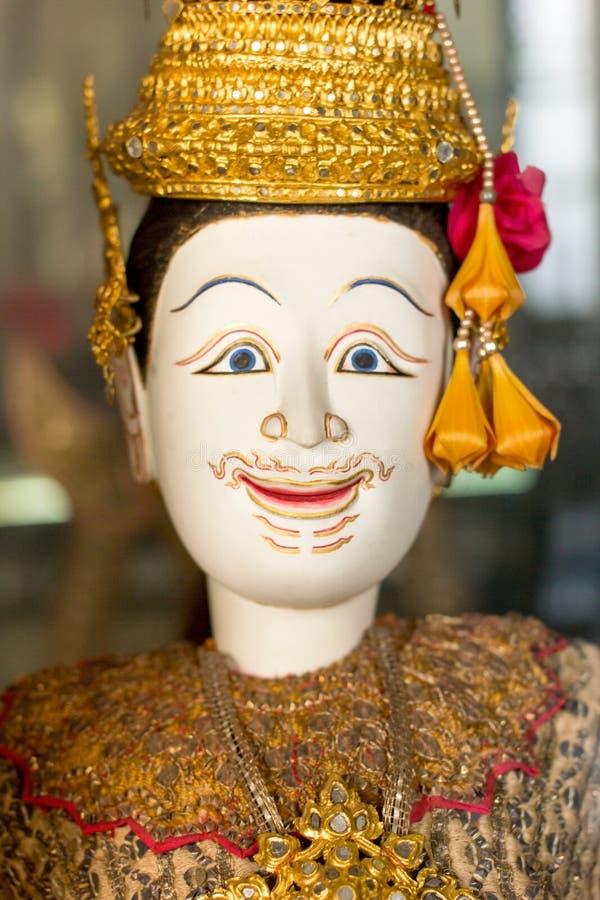 Dama tajlandzka miniaturowa kukła, Hoon Lakorn Lek obrazy stock