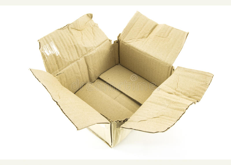 Download Damage box stock image. Image of broken, cardboard, open - 27012937