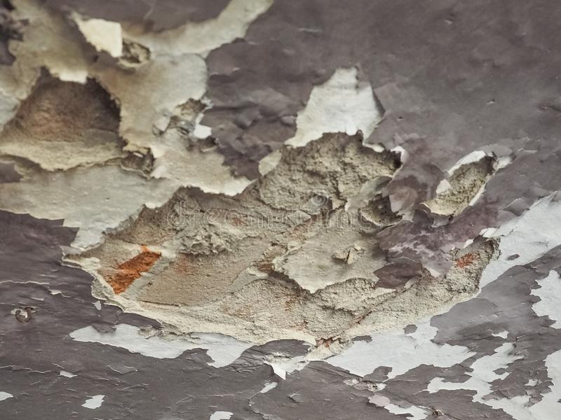 damp moisture on wall and ceiling royalty free stock images