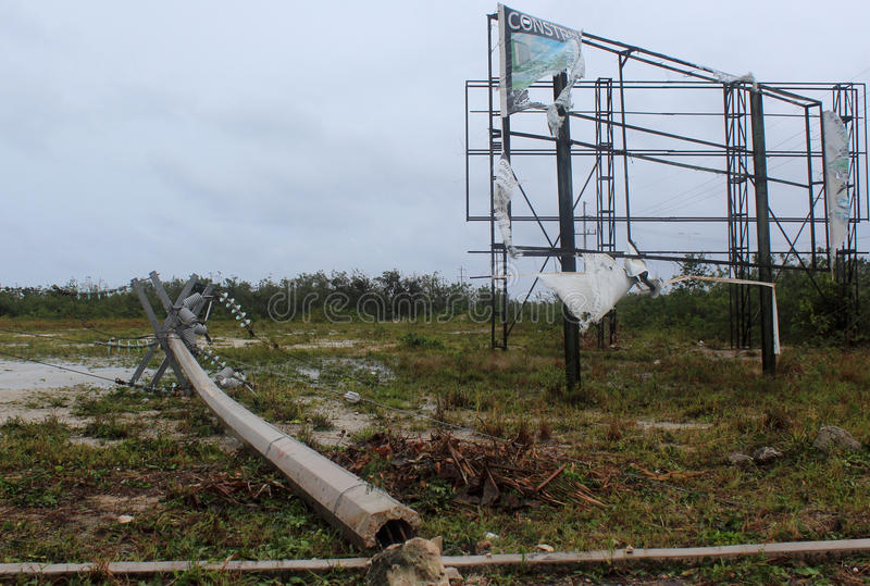 Download Damage In Mahahual Hurricane Ernesto Editorial Photo - Image of rain, post: 26068921