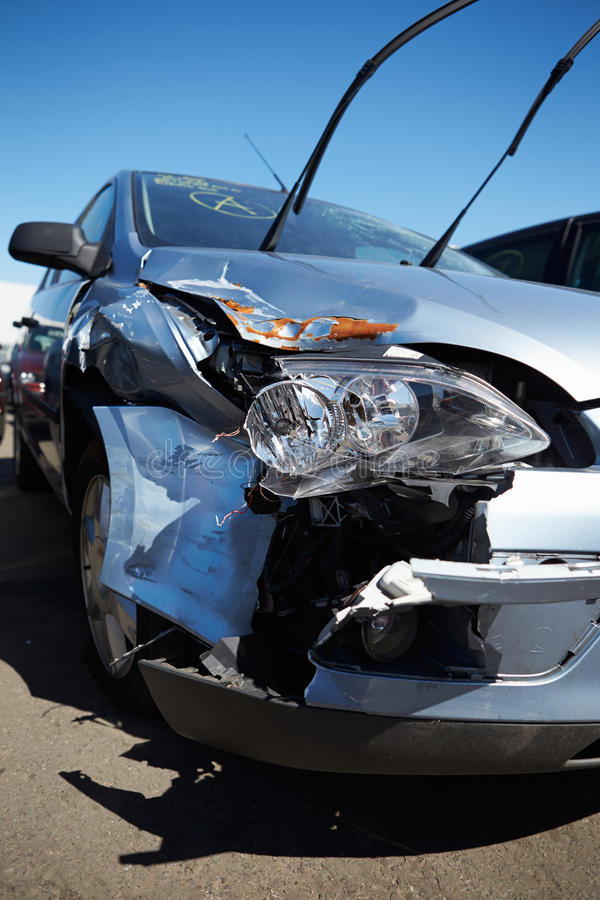 Download Damage To Car Involved In Accident Stock Image - Image: 31863563