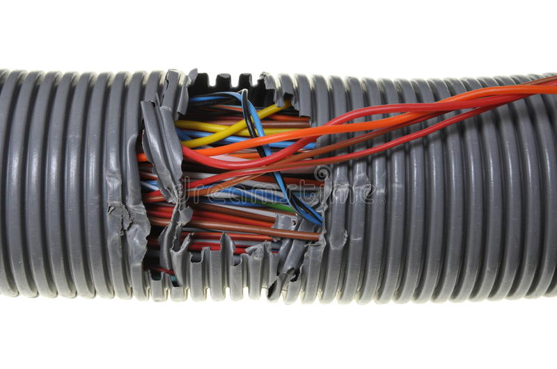 Damage to the computer network