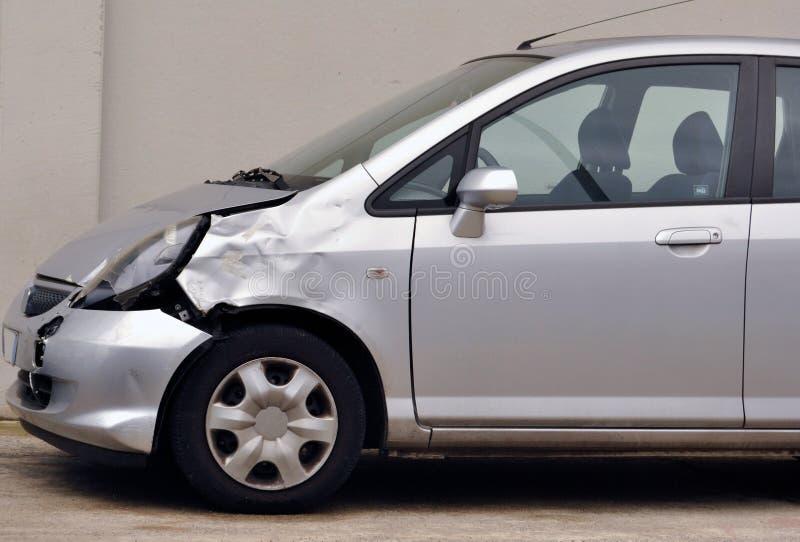 Damaged car stock photo