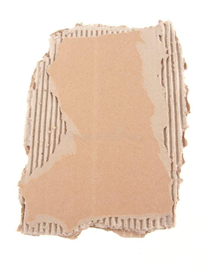Damaged cardboard stock images