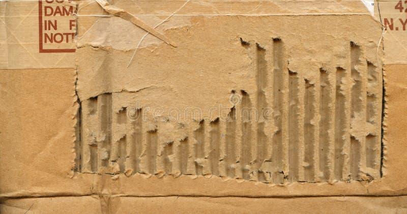 Download Damaged Cardboard Background Stock Image - Image: 5945261