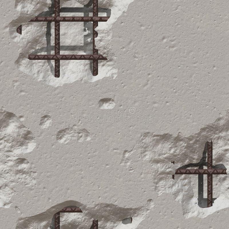 Download Damaged Concrete stock illustration. Image of broken - 20433350
