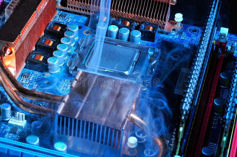 Download Damaged Electronic Pc Component Stock Photo - Image: 10502796