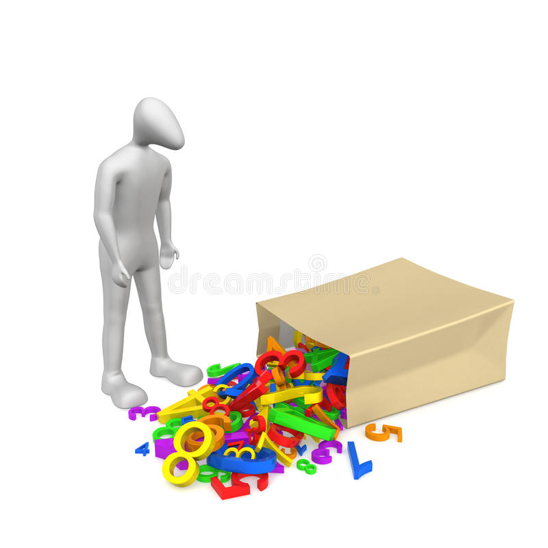 Download Damaged file stock illustration. Image of data, human - 14159564