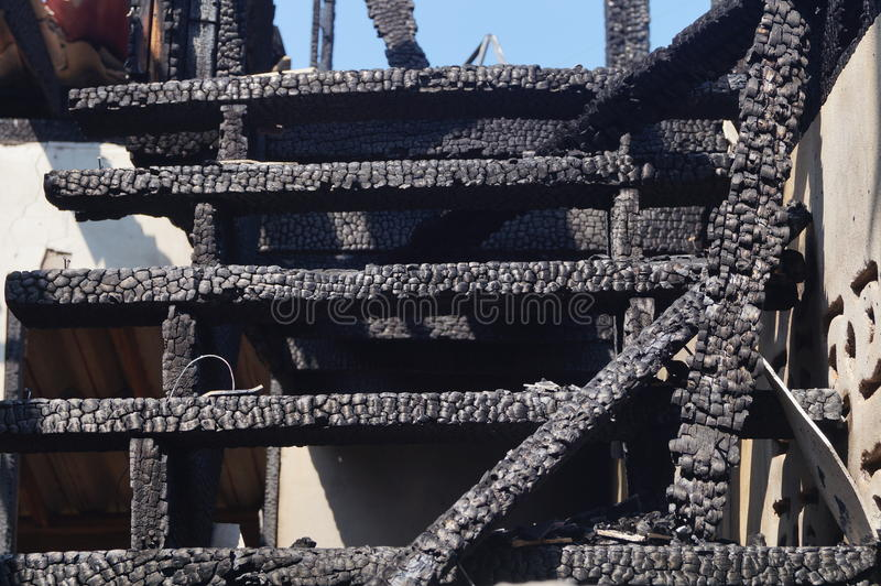 Download Damaged by fire stock photo. Image of residential, circuit - 28333488