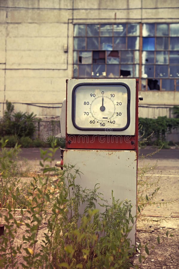 Download Damaged gas station stock photo. Image of pump, concept - 27078818