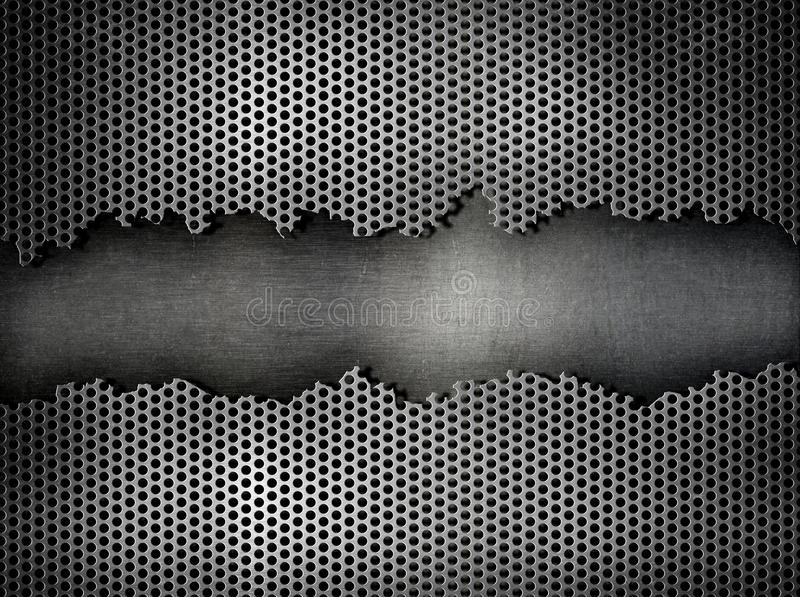 Damaged metal industrial background royalty free stock images