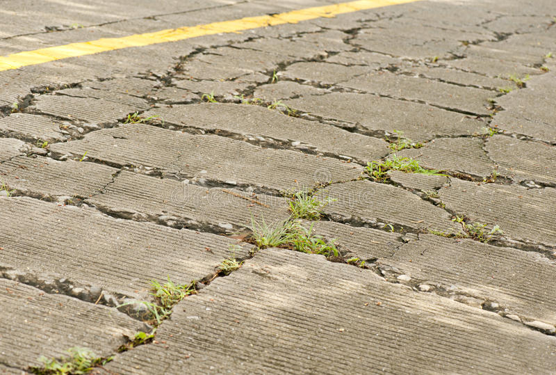 Download Damaged road stock photo. Image of pave, dehiscent, dangerous - 25588772