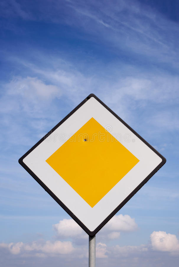 Download Damaged Road Sign stock photo. Image of sunny, bullet - 26575348