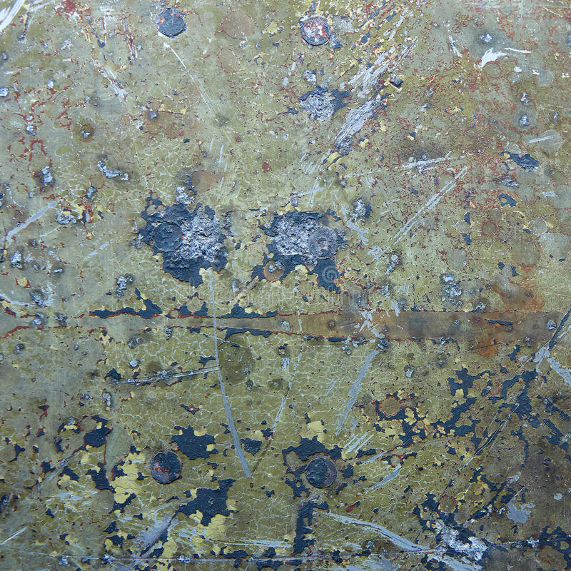 Download Damaged & Rusted Metal Panels Texture From Yak-9 Stock Image - Image: 27930199