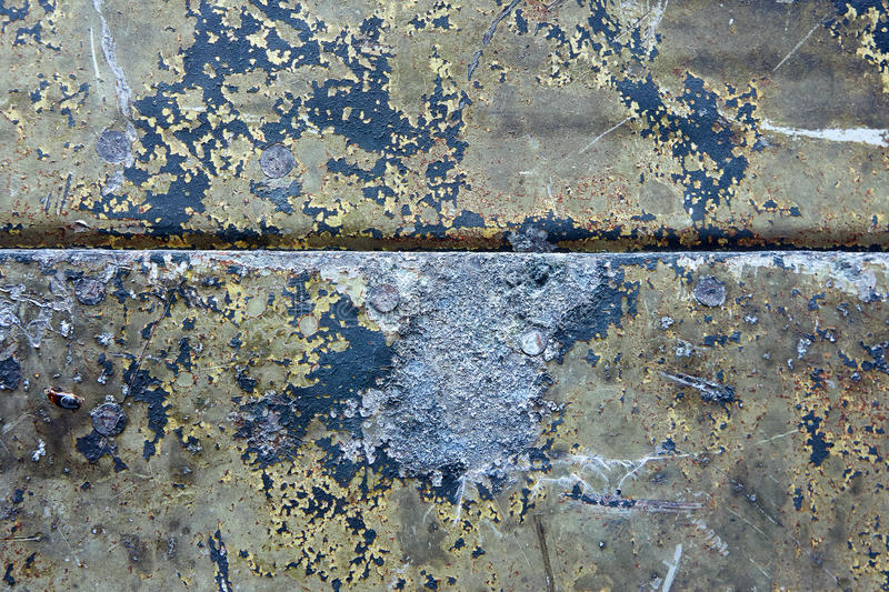 Download Damaged & Rusted Metal Panels Texture From Yak-9 Stock Photo - Image: 27930222