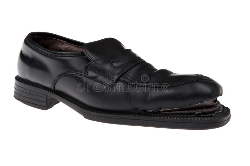 Download Damaged shoes macro stock image. Image of wear, objects - 17862333