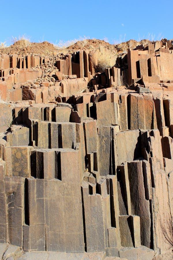 damaraland Namibia organu drymby obrazy royalty free