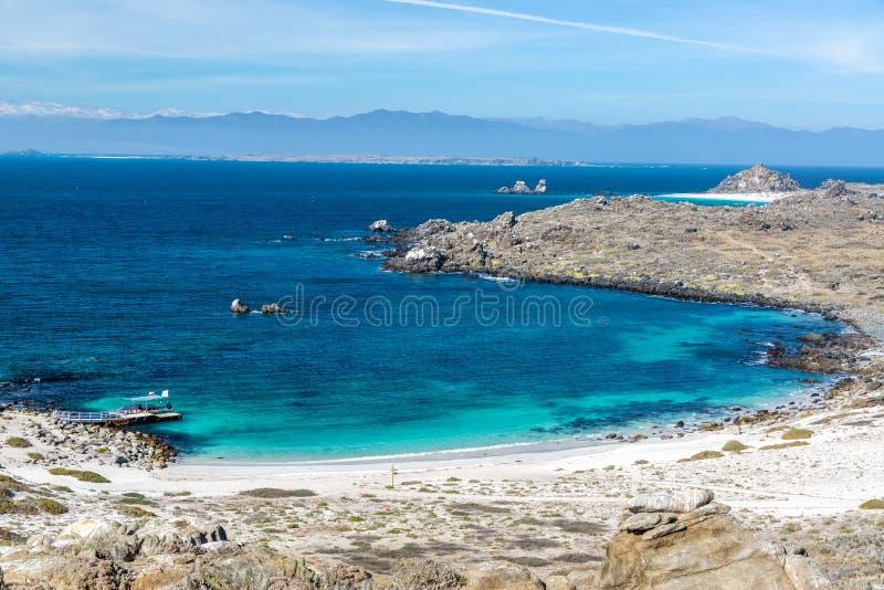 Damas Island Beach royalty-vrije stock foto