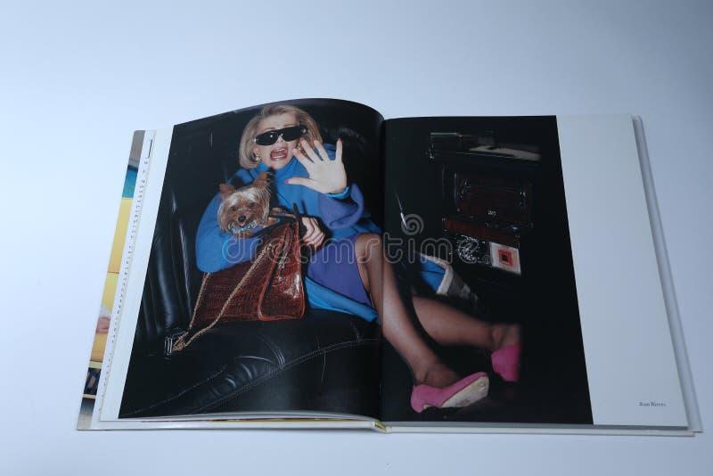 Damas: Mulheres com iniciativa e atitude, retrato de Joan Rivers imagens de stock