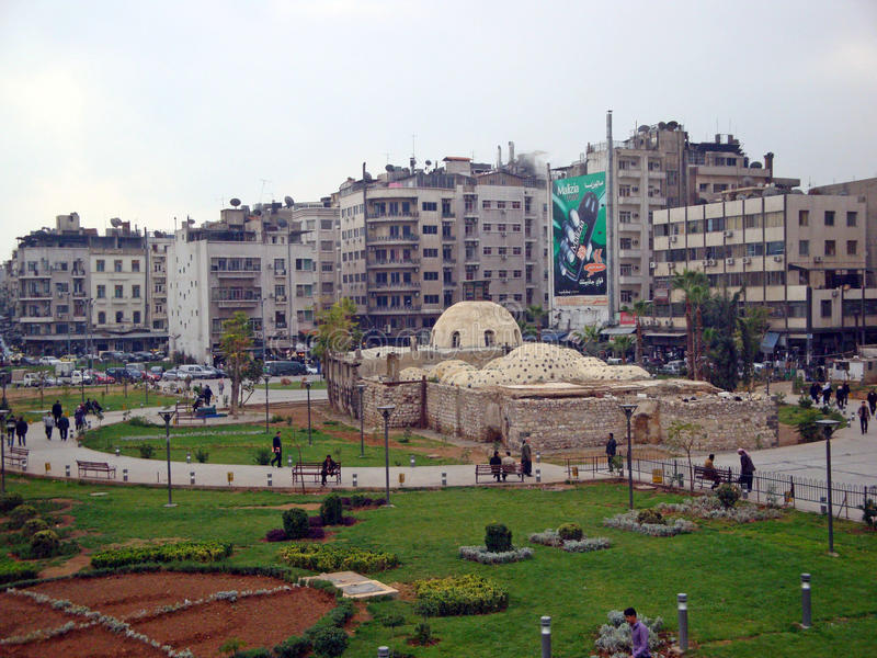 Damas, Syrie image libre de droits