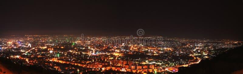 Damasco entro la notte fotografia stock