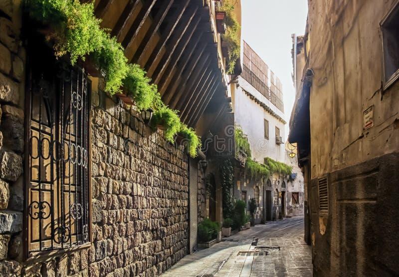 Damasco velha fotografia de stock