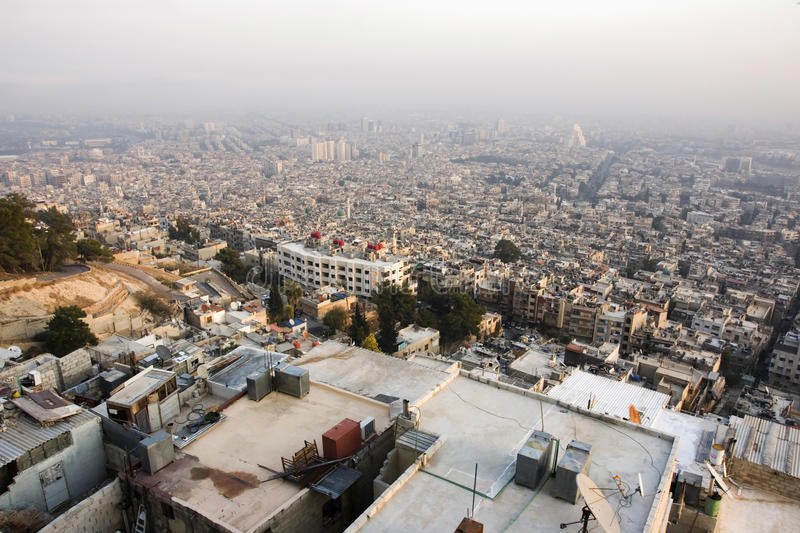 Download Damascus, capital of Syria stock image. Image of building - 22118471