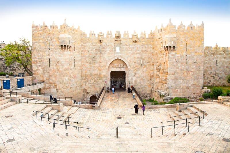 Download Damascus Gate,  Jerusalem, Israel Stock Photo - Image: 27447896