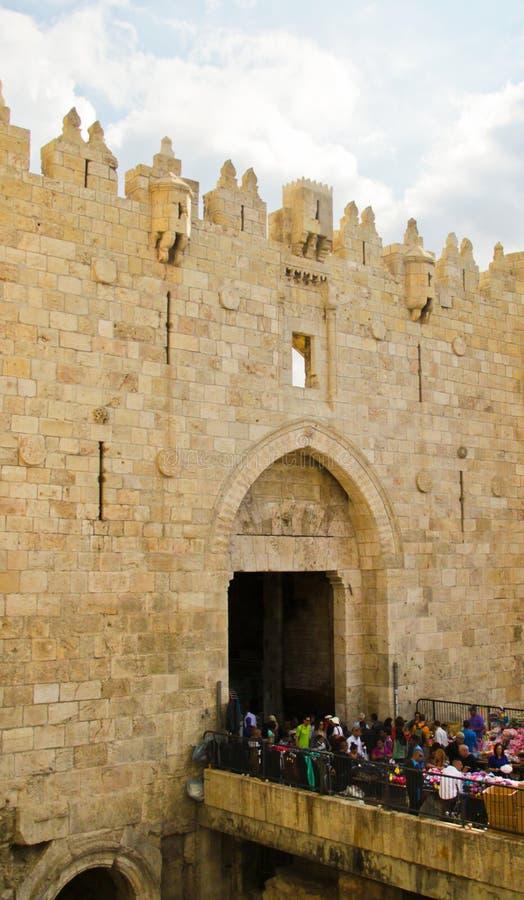 Damascus Gates, Jerusalem royalty free stock image
