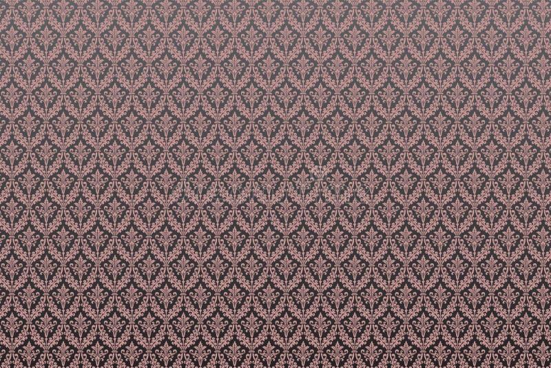 damask πρότυπο βικτοριανό διανυσματική απεικόνιση
