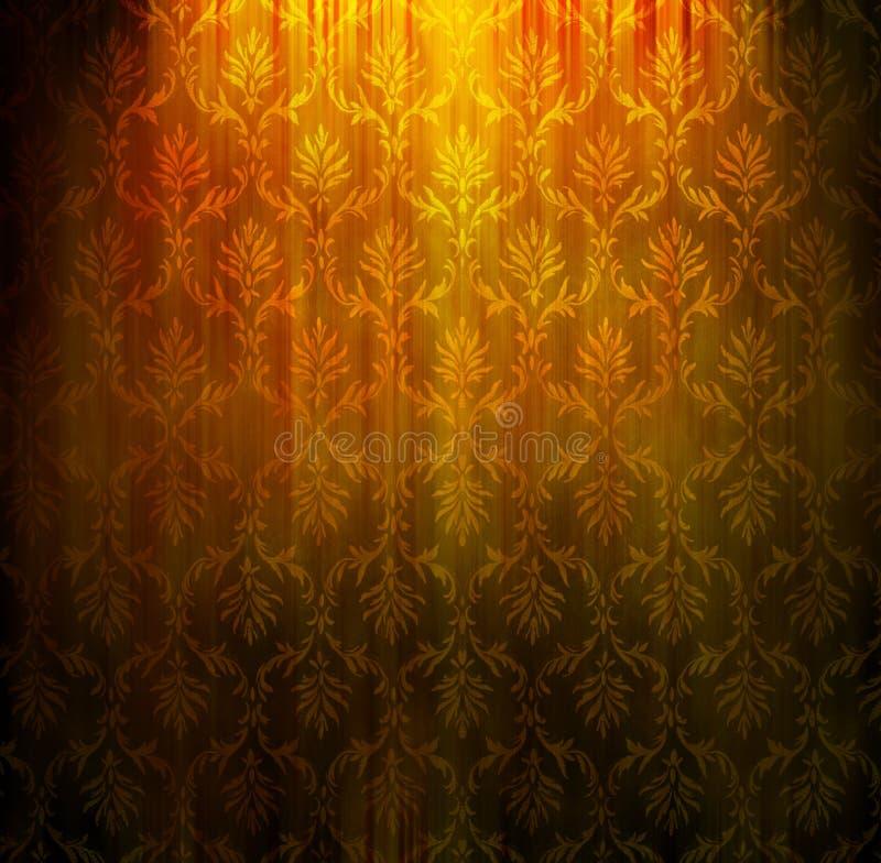 damask ταπετσαρία ελεύθερη απεικόνιση δικαιώματος