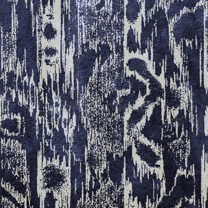 Damask ikat texture repeat modern pattern. Watercolor texture repeat modern pattern royalty free illustration