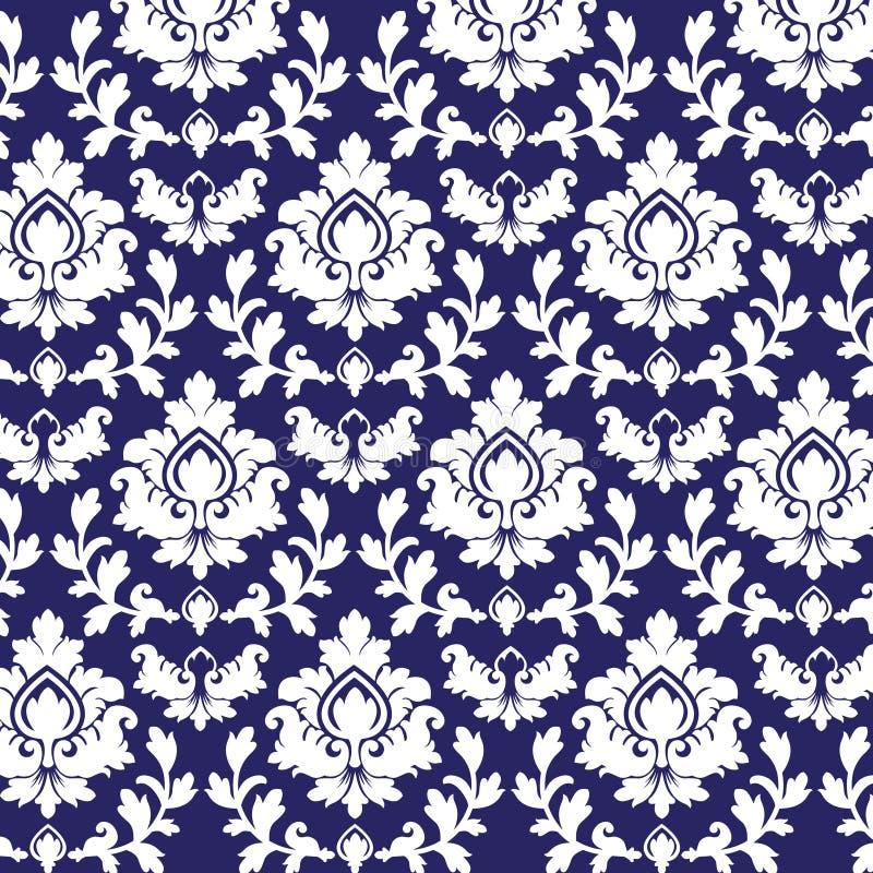 Download Damask pattern stock vector. Illustration of bloom, curl - 16184075