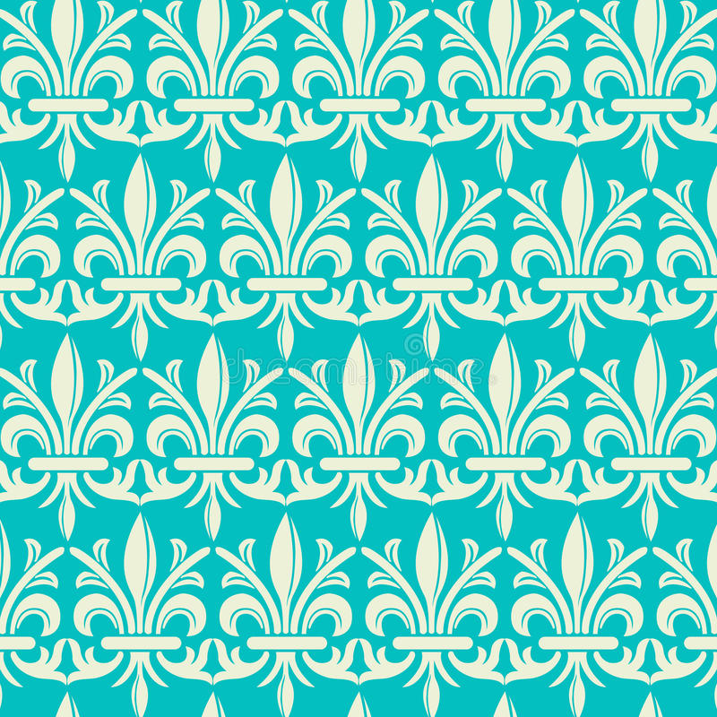 Download Damask Pattern stock vector. Image of pattern, vintage - 27380592