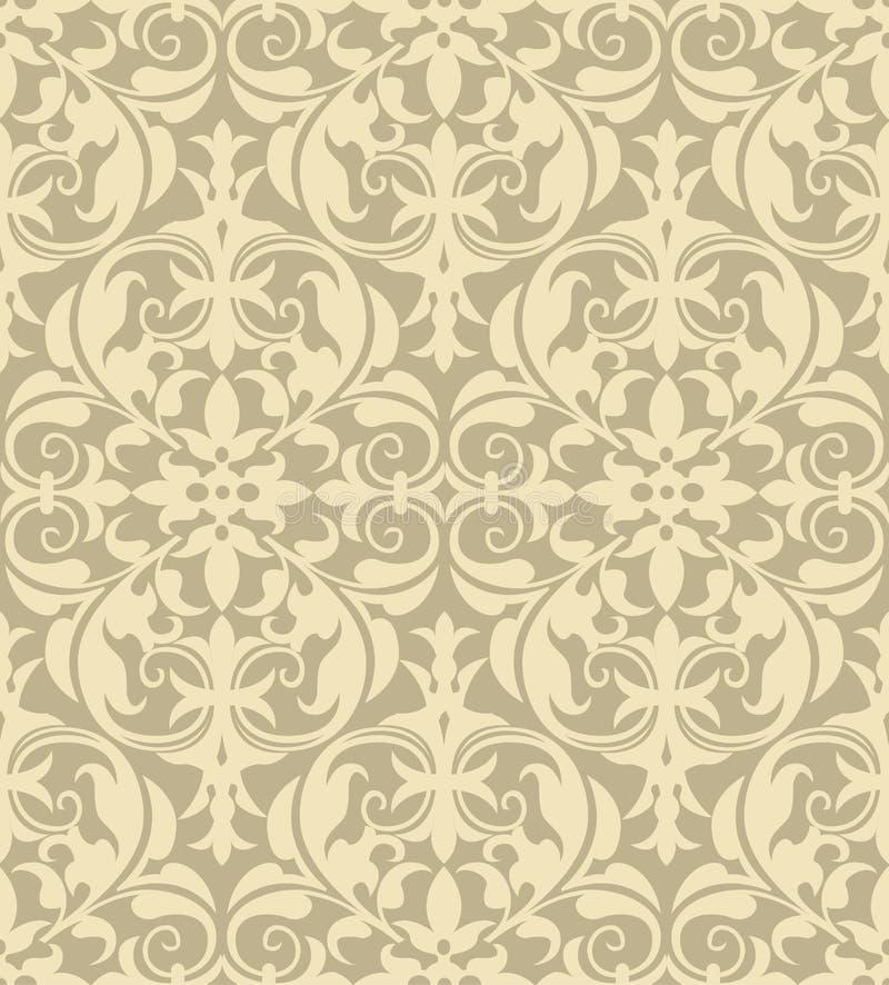 Download Damask Pattern stock vector. Illustration of medieval - 27598581