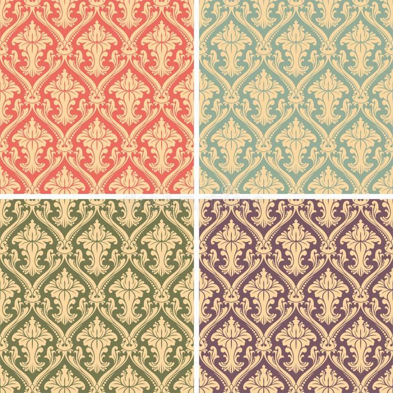 Free Damask Pattern Royalty Free Stock Images - 9391479