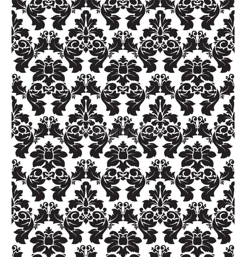 Free Damask Pattern One Royalty Free Stock Image - 8702566
