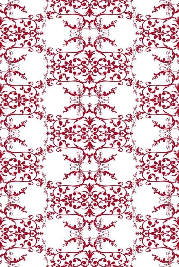damask pattern seamless vintage бесплатная иллюстрация