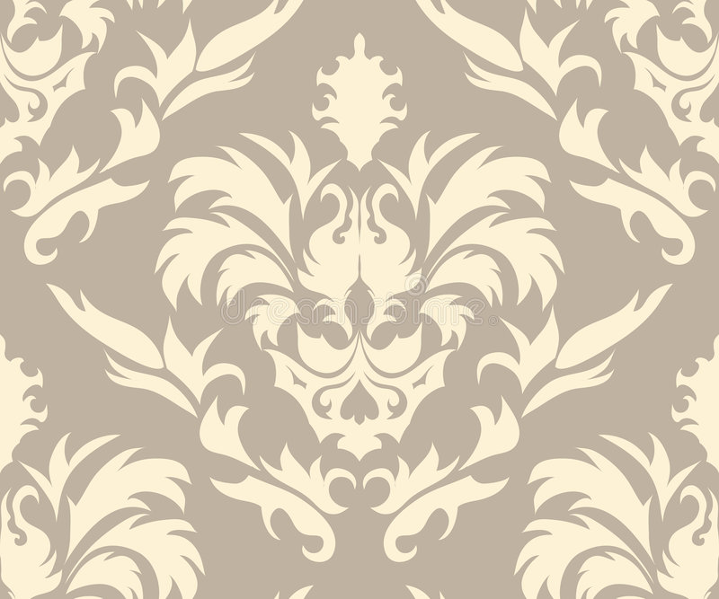 Download Damask seamless pattern stock vector. Illustration of damask - 8836464