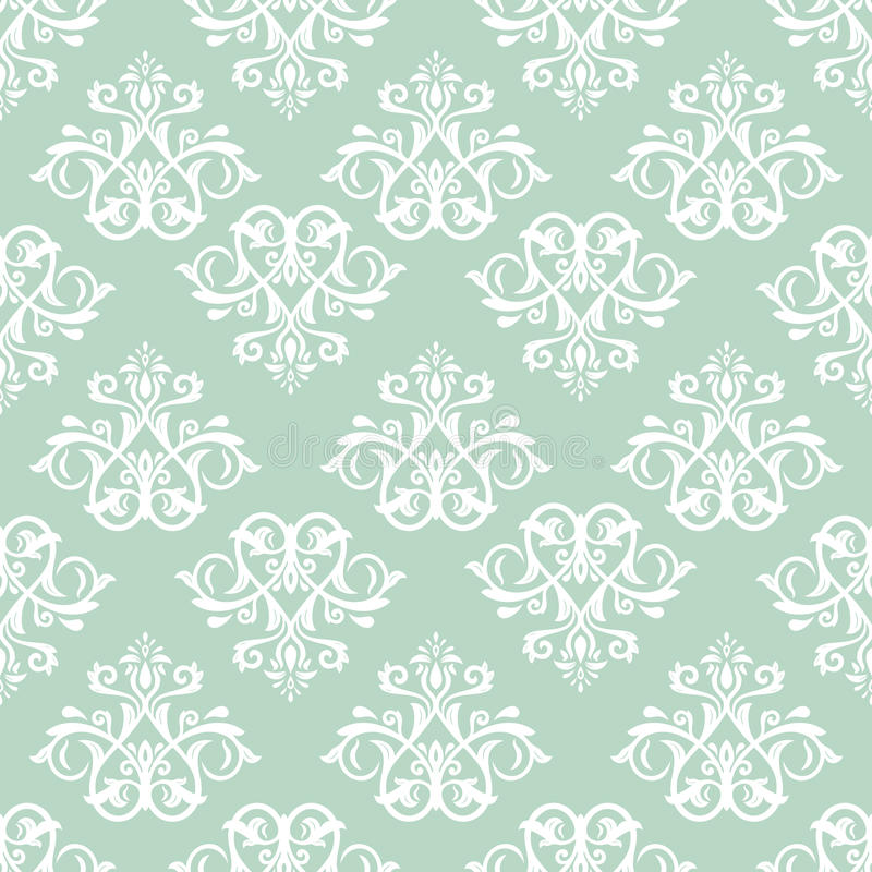 Download Damask Seamless Pattern. Abstract Background Stock Vector - Image: 43202127