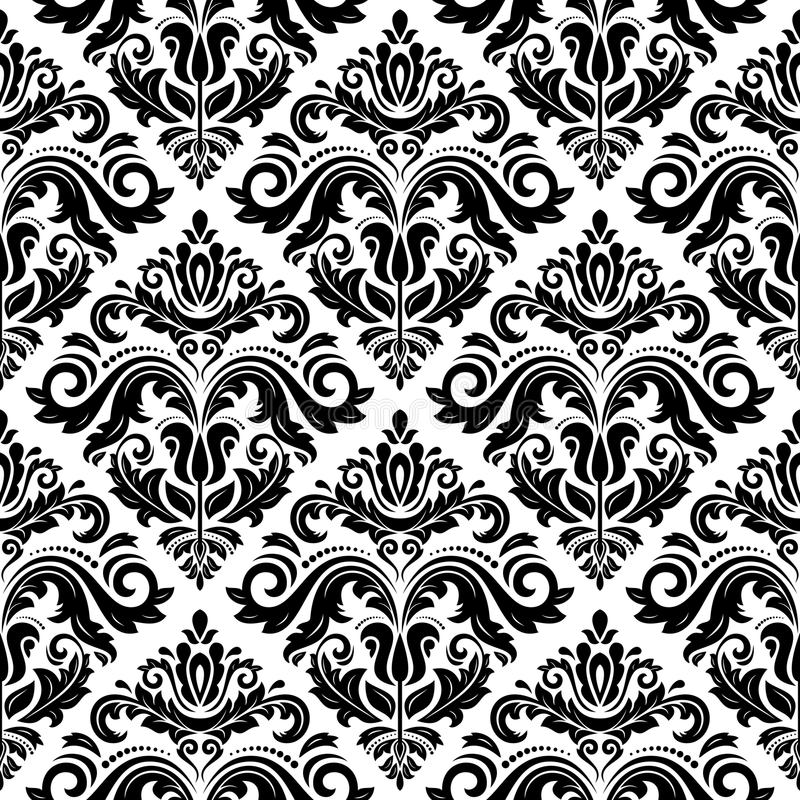 Download Damask Seamless Pattern. Abstract Background Stock Vector - Image: 43202214