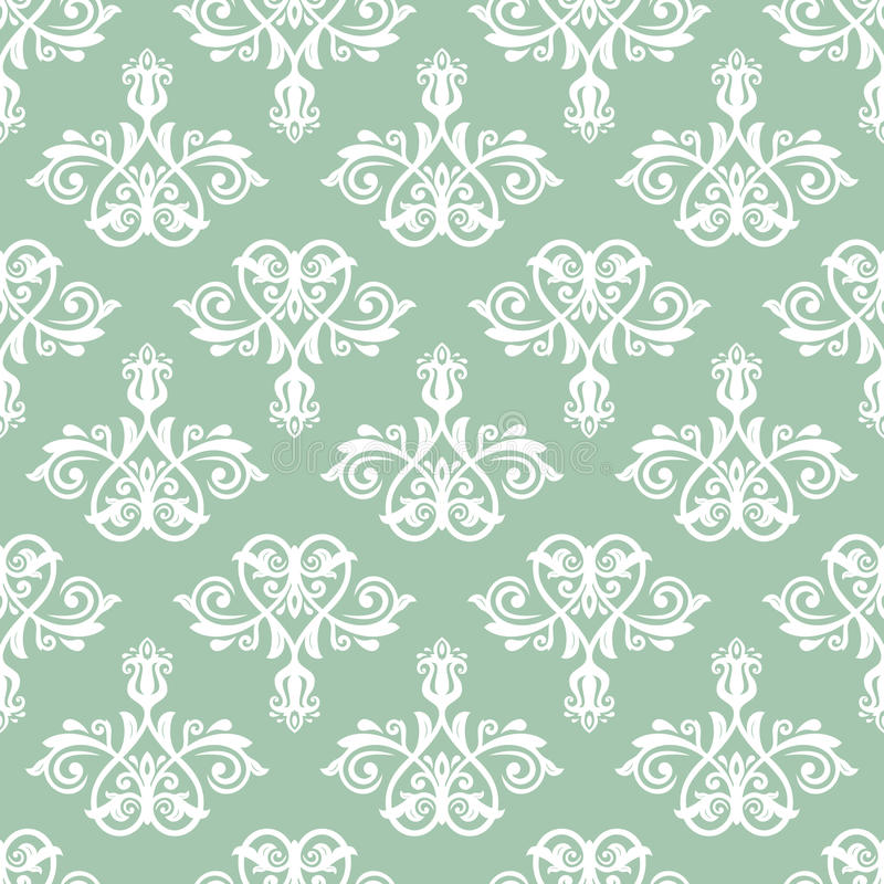 Download Damask Seamless Pattern. Abstract Background Stock Vector - Image: 43202239