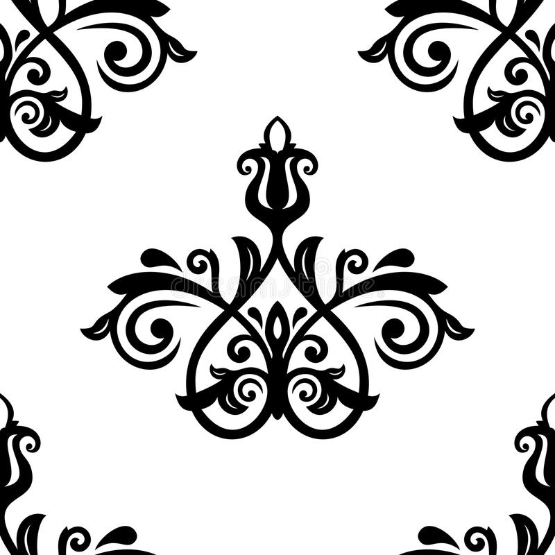Download Damask Seamless Pattern. Abstract Background Stock Vector - Image: 43229564