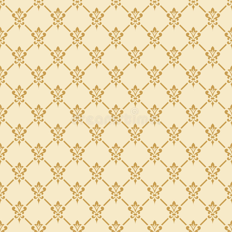 Damask seamless pattern. vector illustration