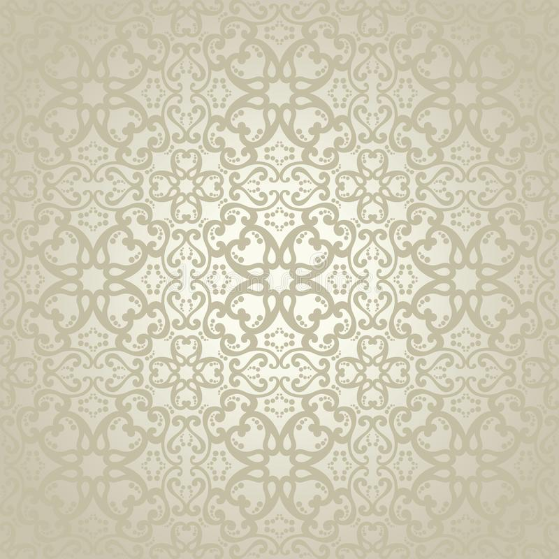 Damask seamless pattern for your design vector illustration